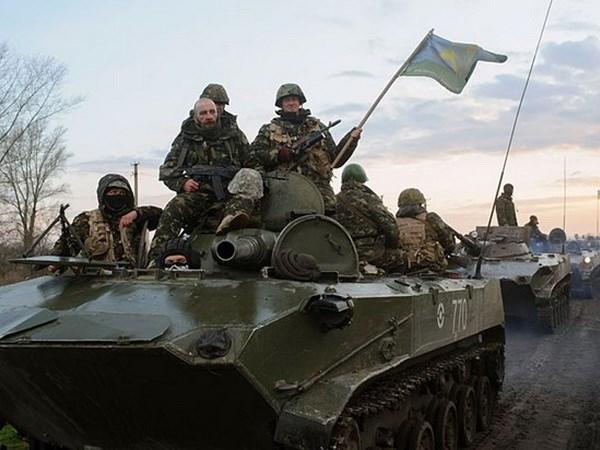 Ukraine ha nhiet chien dich