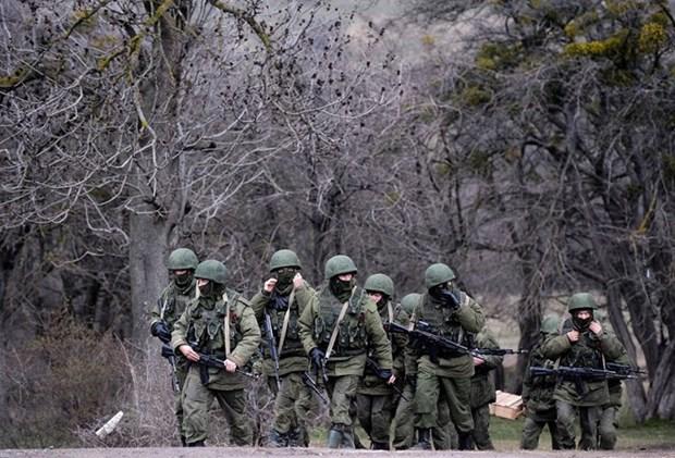 Nga ly giai viec trien khai quan gan bien gioi voi Ukraine hinh anh 1