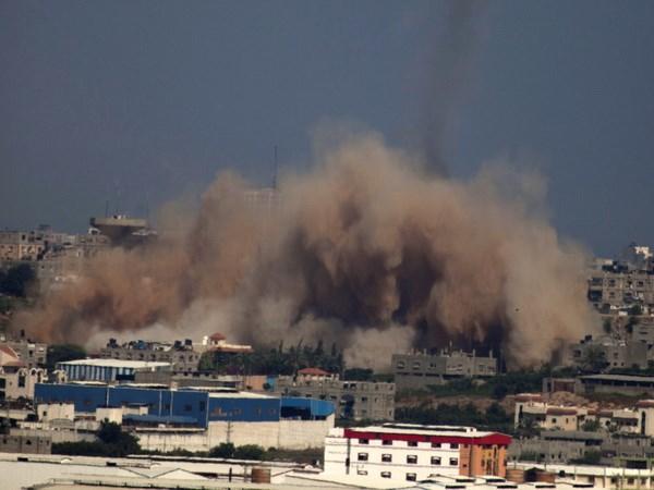 Bo truong quoc phong My, Israel dien dam ve tinh hinh Gaza hinh anh 1