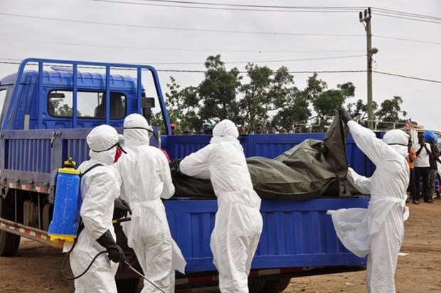 Liberia ap dat lenh gioi nghiem ban dem do Ebola bung phat hinh anh 1