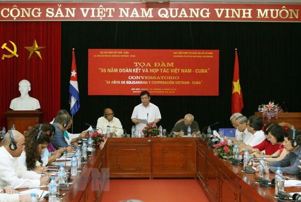 Viet Nam-Cuba: Moi quan he dac biet hiem co tren the gioi hinh anh 1