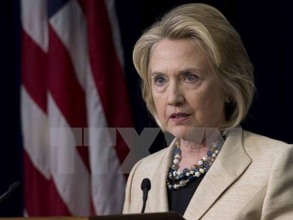 Bau cu My 2016: Ty le ung ho ba Hillary Clinton giam manh hinh anh 1