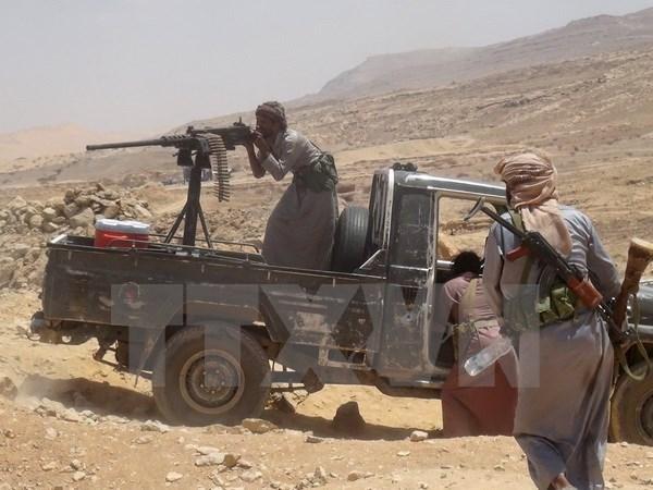 30 binh sy thiet mang trong mot vu khong kich nham o Yemen hinh anh 1