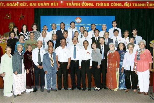 Gap cuu can bo Ban Tri van Mat tran Khu uy Sai Gon-Gia Dinh hinh anh 1
