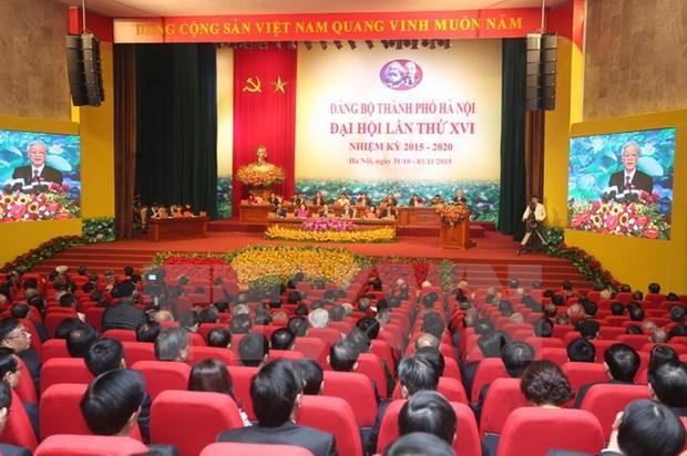 Khong xay ra tam ly hut hang sau dai hoi Dang cac cap o Ha Noi hinh anh 1