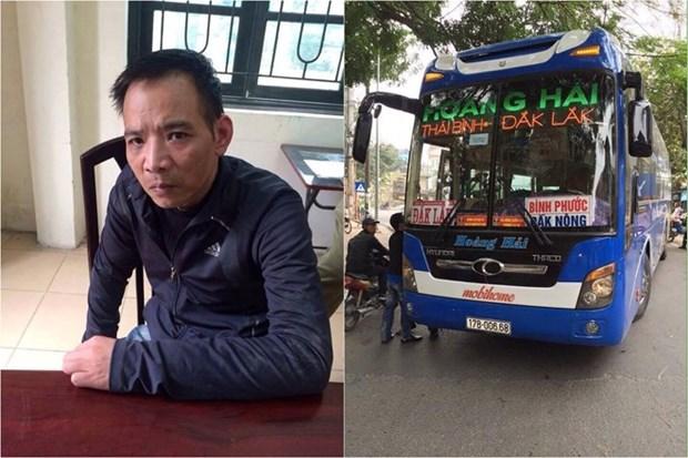 Khoi to doi tuong an cap xe khach tai ben xe trung tam Thai Binh hinh anh 1