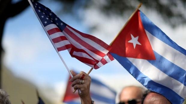 Cuba-My tien hanh dam phan ve vien thong va mang Internet hinh anh 1