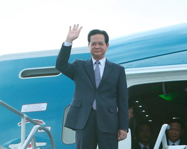 Thu tuong toi California du Hoi nghi Cap cao ASEAN-Hoa Ky hinh anh 1