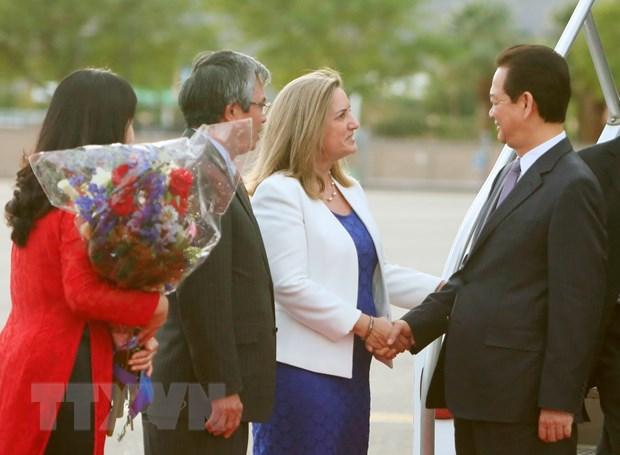 Thu tuong toi California du Hoi nghi Cap cao ASEAN-Hoa Ky hinh anh 2