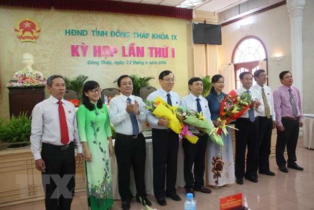 Ong Phan Van Thang duoc bau lam Chu tich HDND tinh Dong Thap hinh anh 1