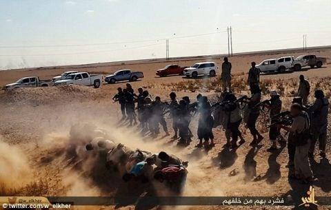 Cac tay sung nhom khung bo IS hanh quyet 24 dan thuong Syria hinh anh 1