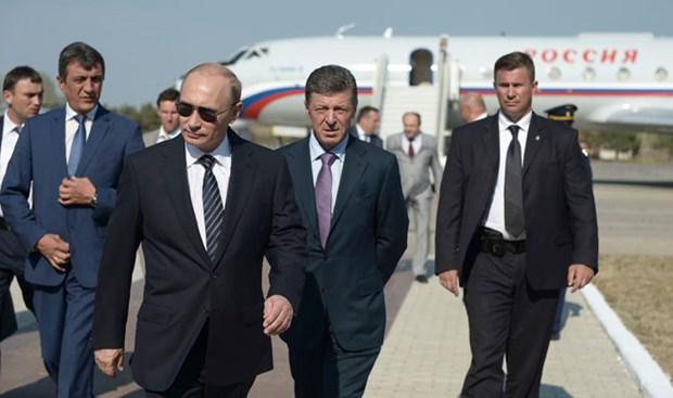 Ukraine phan doi chuyen tham Crimea cua Tong thong Nga Putin hinh anh 1