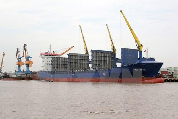 Cang Hai Phong va hang tau Heung-A lien doanh khai thac logistics hinh anh 1