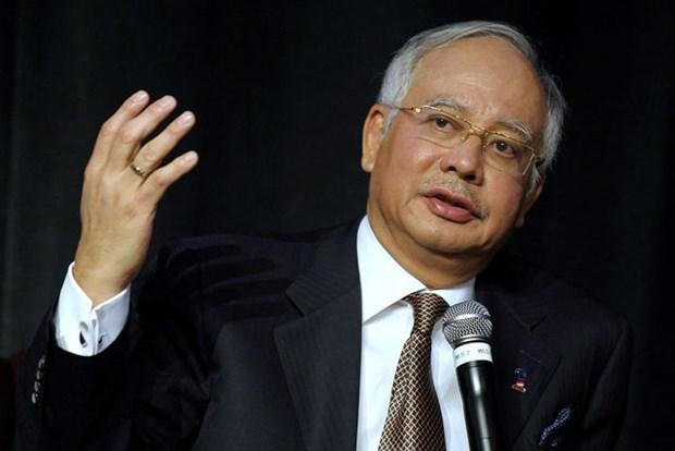 Thu tuong Malaysia Najib Razak bat dau cong du Nhat Ban 3 ngay hinh anh 1