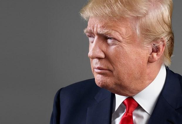Trieu Tien lan dau nhac den chien thang cua ong Donald Trump hinh anh 1