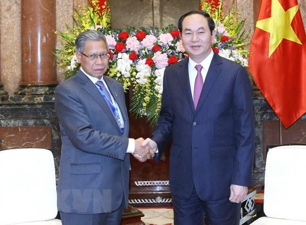 Viet Nam-Malaysia huong toi kim ngach thuong mai 15 ty USD hinh anh 1