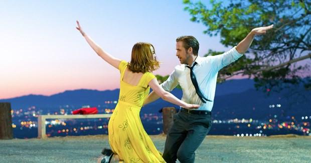 "Phim ca nhac ""La La Land"" gianh 7 de cu giai Qua Cau Vang hinh anh 1"