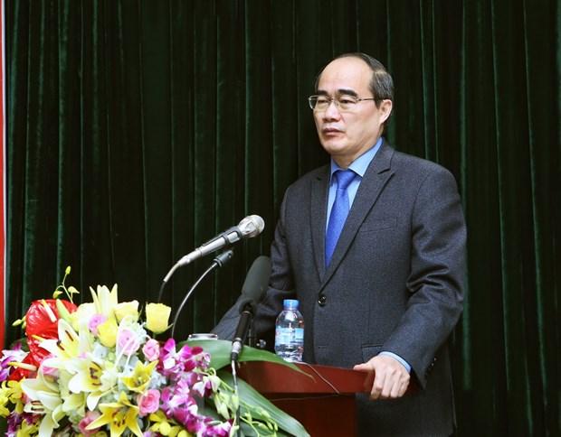 Ong Nguyen Thien Nhan: Moi nguoi dan la mot ''cam bien xa hoi