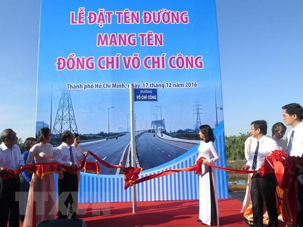 Thanh pho Ho Chi Minh dat ten duong mang ten Vo Chi Cong hinh anh 1