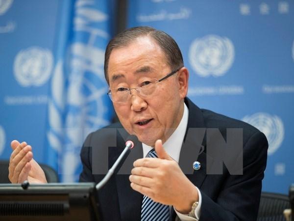 Yonhap: It kha nang ong Ban Ki-moon gia nhap phe doi lap Han Quoc hinh anh 1