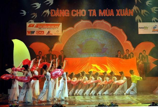 """Dac sac chuong trinh nghe thuat """"Dang cho ta mua Xuan"""" hinh anh 1"""