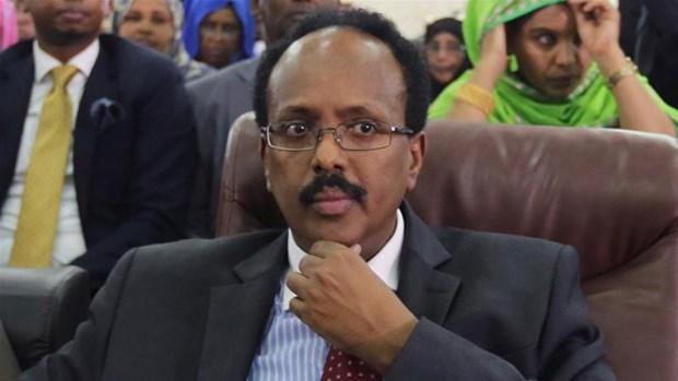 Cuu thu tuong Somalia Abdullahi Farmajo duoc bau lam tong thong hinh anh 1