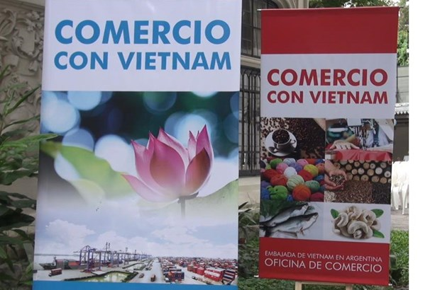 Toa dam hop tac thuong mai Viet Nam-Argentina tai Buenos Aires hinh anh 1