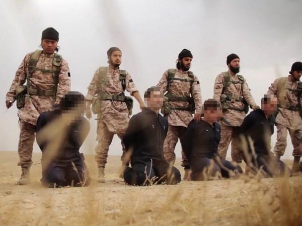 IS phat tan video chat dau binh sy nham de doa Iran hinh anh 1