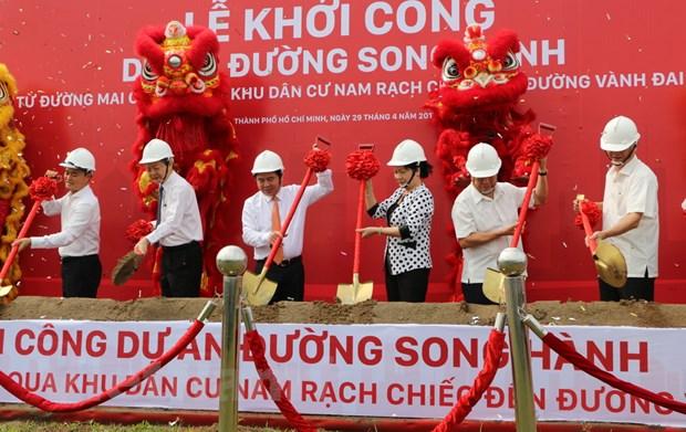 TP Ho Chi Minh dau tu hon 800 ty dong lam duong song hanh cao toc hinh anh 1