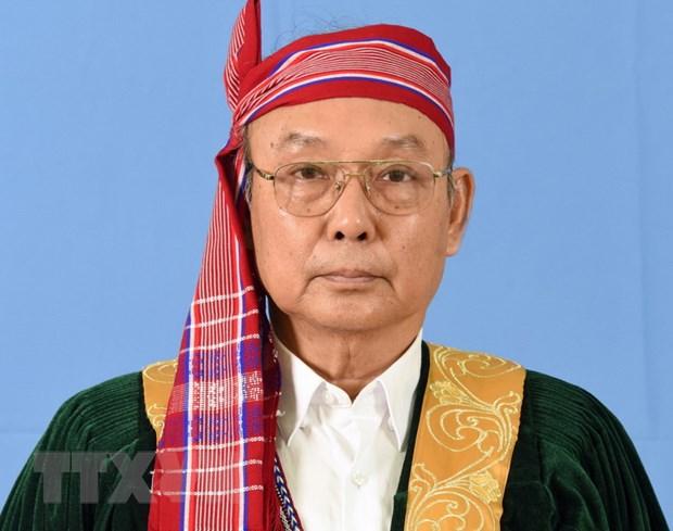 Chu tich Thuong vien Myanmar bat dau tham chinh thuc Viet Nam hinh anh 1