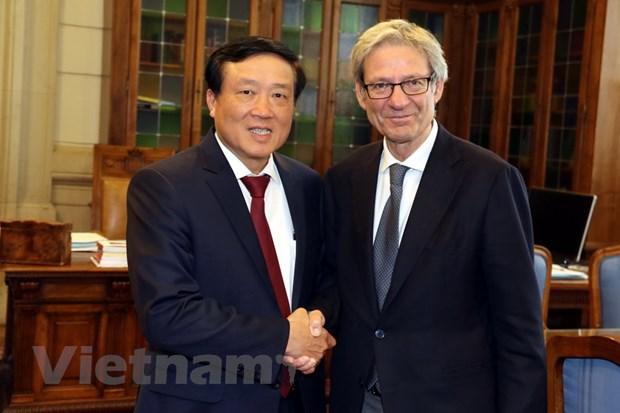 Viet Nam-Italy trao doi thong tin ve hoat dong phong chong toi pham hinh anh 1
