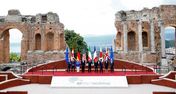 Hoi nghi G7 thong qua tuyen bo chung ve chong chu nghia khung bo hinh anh 1