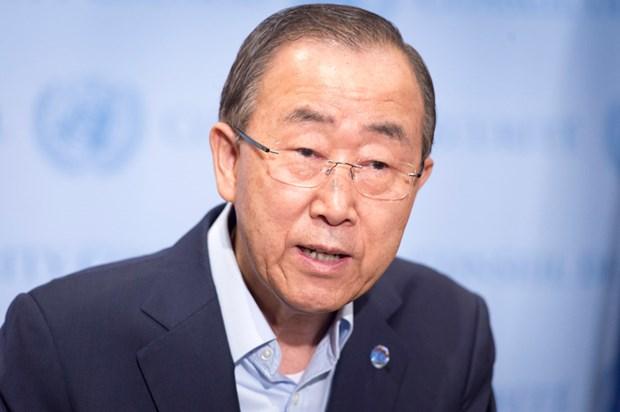 Tong thong Han Quoc tham khao y kien cua ong Ban Ki-moon hinh anh 1