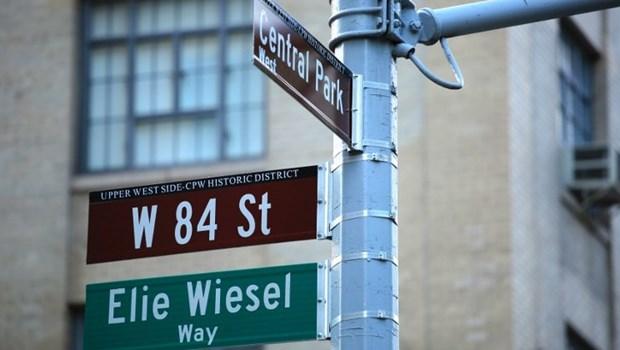 My: New York dat ten pho de tuong nho nguoi Do Thai Elie Wiesel hinh anh 1