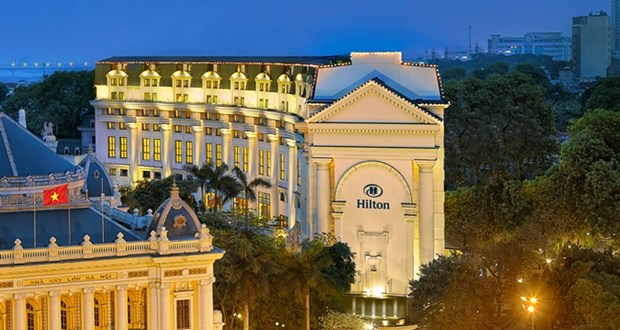 Phat trien, van hanh 11 khach san mang thuong hieu Hilton tai Viet Nam hinh anh 1