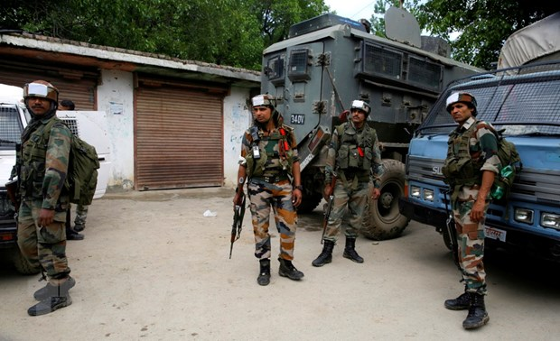 An Do: Bao luc doc khu vuc Kashmir khien 10 nguoi thiet mang hinh anh 1