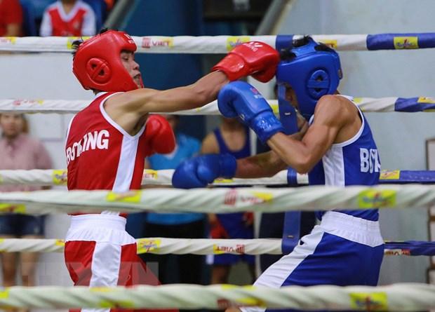 Khai mac giai vo dich Boxing tre toan quoc nam 2017 tai Dak Lak hinh anh 1