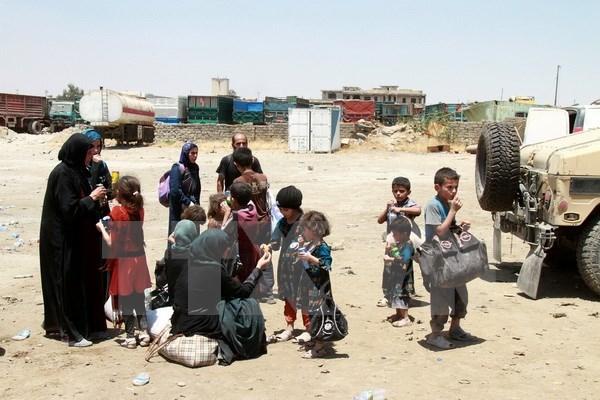 Lien hop quoc: Hon 800.000 nguoi chay khoi Mosul van chua tro ve hinh anh 1