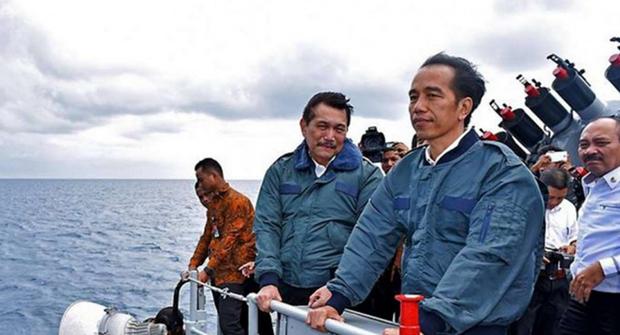 Indonesia dat lai ten cho mot vung bien tren khu vuc Bien Dong hinh anh 1
