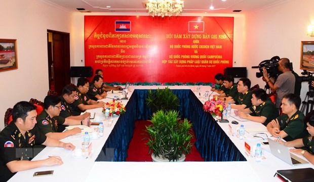 Viet Nam-Campuchia vun dap moi quan he on dinh, ben vung hinh anh 1