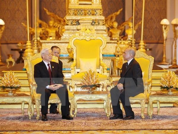 Moi quan he giua Viet Nam va Campuchia: Sau nang an tinh hinh anh 2