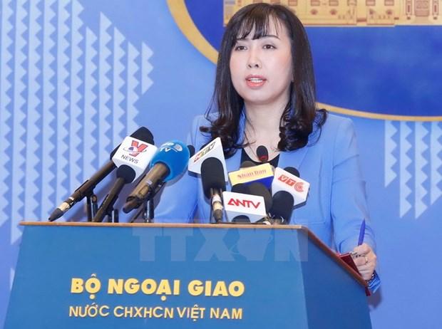 Viet Nam phan doi Trung Quoc huan luyen ban dan that o Hoang Sa hinh anh 1