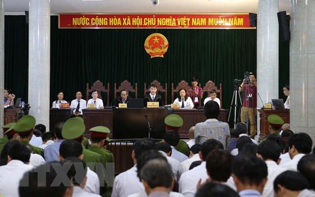 Xet xu Ha Van Tham: Lanh dao Vietsovpetro phu nhan viec nhan tien hinh anh 1