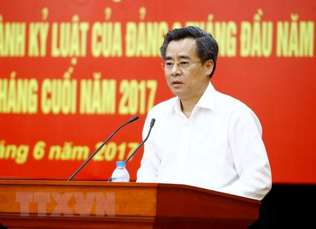 Hoi nghi Ban Chap hanh Dang bo Khoi cac co quan TW lan thu 9 hinh anh 1