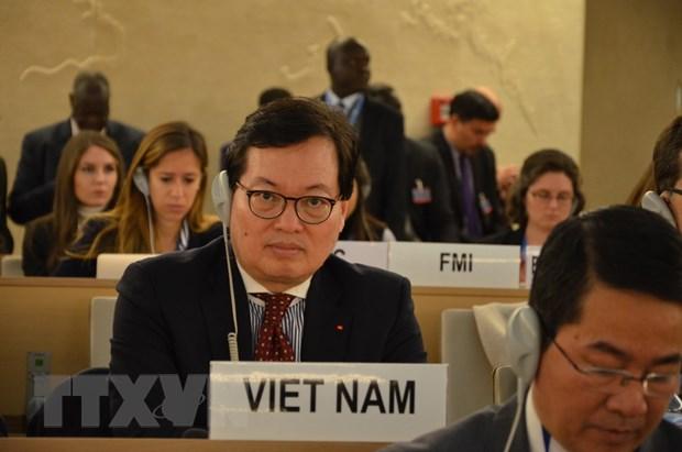 Viet Nam du khoa hop thu 36 Hoi dong Nhan quyen Lien hop quoc hinh anh 1