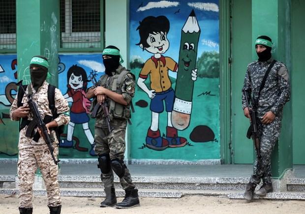 Lanh dao phong trao Hamas tai Gaza tuyen bo khong giai giap vu khi hinh anh 1