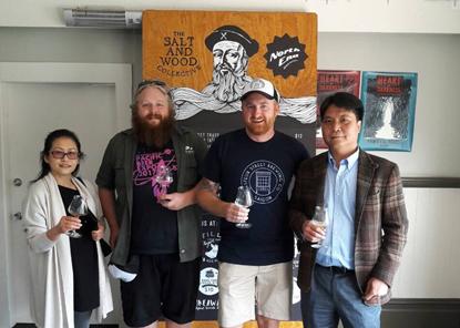 Gioi thieu bia Viet tai Hoi cho bia Thai Binh Duong o New Zealand hinh anh 1
