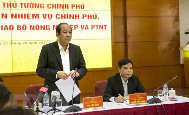 Bo truong Mai Tien Dung: