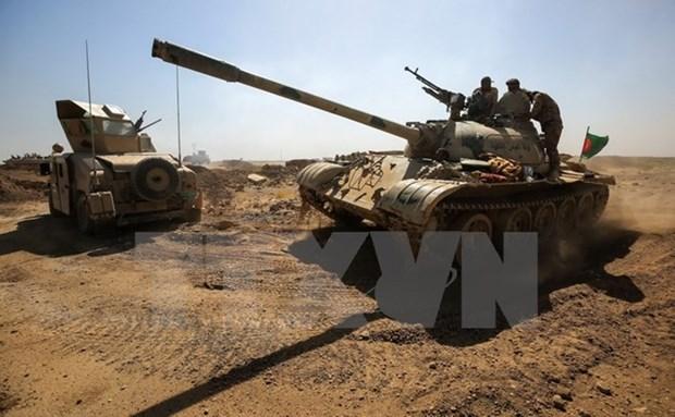 Giai phong 33 khu vuc, Iraq danh than toc o mat tran Tay Anbar hinh anh 1
