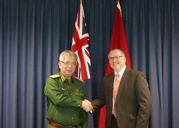Doi thoai Chinh sach Quoc phong Viet Nam-Australia lan thu nhat hinh anh 1